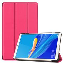 Huawei MediaPad M6 8.4 hoes - Tri-Fold Book Case - Magenta