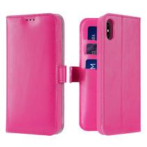 iPhone X/Xs hoesje - Dux Ducis Kado Wallet Case - Roze