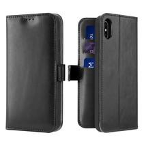 iPhone Xs Max hoesje - Dux Ducis Kado Wallet Case - Zwart