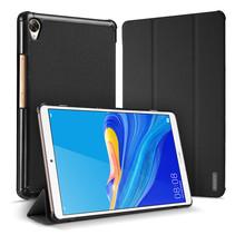 Huawei MediaPad M6 8.4 hoes - Dux Ducis Domo Book Case - Zwart