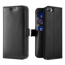 iPhone 7 / 8 Plus hoesje - Dux Ducis Kado Wallet Case - Zwart