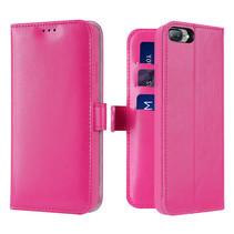iPhone 7 / 8 Plus hoesje - Dux Ducis Kado Wallet Case - Roze