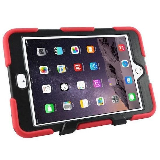 Case2go iPad Air 10.5 (2019) Hoes - Extreme Armor Case - Rood
