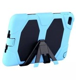 Case2go iPad Air 10.5 (2019) Hoes - Extreme Armor Case - Licht Blauw