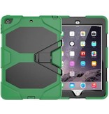 Case2go iPad Air 10.5 (2019) Hoes - Extreme Armor Case - Donker Groen