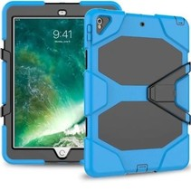 iPad Air 10.5 (2019) Hoes - Extreme Armor Case - Licht Blauw