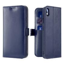 Samsung Galaxy A10 hoesje - Dux Ducis Kado Wallet Case - Blauw
