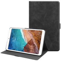 Xiaomi Mi Pad 4 Plus hoes - PU Leer Folio Book Case - Zwart