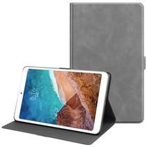 Xiaomi Mi Pad 4 Plus hoes - PU Leer Folio Book Case - Grijs
