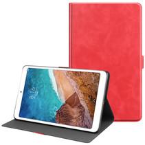 Xiaomi Mi Pad 4 Plus hoes - PU Leer Folio Book Case - Rood