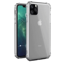 iPhone 11 Pro Max hoes - Anti-Shock TPU Back Cover - Transparant