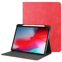 Apple iPad Pro 11 (2018) hoes - PU Leer Folio Book Case - Rood