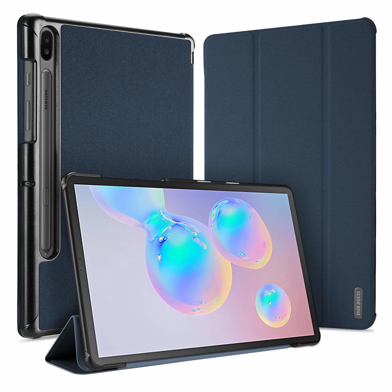 samsung galaxy tab s6 hoes dux ducis domo series blauw. Black Bedroom Furniture Sets. Home Design Ideas