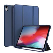 Apple iPad Pro 11 (2018) hoes - Dux Ducis Osom Tri-Fold Book Case Series - Blauw