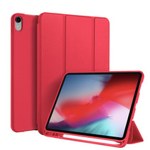 Apple iPad Pro 11 (2018) hoes - Dux Ducis Osom Tri-Fold Book Case Series - Rood