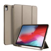 Apple iPad Pro 11 (2018) hoes - Dux Ducis Osom Tri-Fold Book Case Series - Champagne
