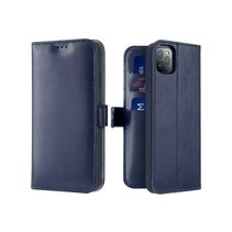 iPhone 11 Pro Max hoesje - Dux Ducis Kado Wallet Case - Blauw