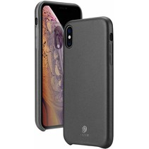 iPhone XS Max hoes - Dux Ducis Skin Lite Back Cover - Zwart