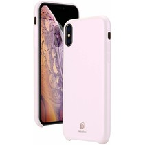 iPhone XS Max hoes - Dux Ducis Skin Lite Back Cover - Roze