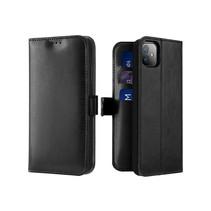 iPhone 11 hoesje - Dux Ducis Kado Wallet Case - Zwart