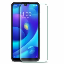 Xiaomi Redmi Note 8 Pro - Tempered Glass Screenprotector - Case Friendly