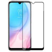 Xiaomi Redmi Note 8 - Full Cover Screenprotector - Zwart