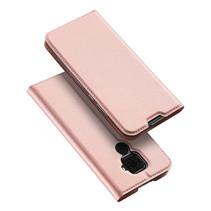 Huawei Mate 30 Lite hoes - Dux Ducis Skin Pro Case - Rosé Goud
