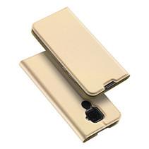 Huawei Mate 30 Lite hoes - Dux Ducis Skin Pro Case - Goud