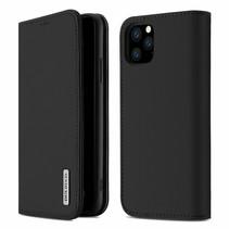 iPhone 11 Pro Max hoesje - Dux Ducis Wish Wallet Book Case - Zwart