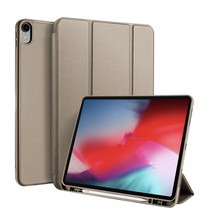 iPad Pro 12.9 (2018) hoes - Dux Ducis Osom Tri-Fold Book Case Series - Champagne