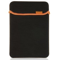 Samsung Galaxy Tab hoes - neoprene tablet sleeve - zwart/wit
