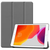 Hoesje voor iPad 10.2 inch 2019 / 2020 - Tri-Fold Book hoes Case - Grijs