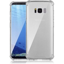 Samsung Galaxy S8 Plus hoes - Anti-Shock TPU Back Cover - Transparant
