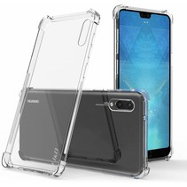 Huawei P20 hoes - Anti-Shock TPU Back Cover - Transparant