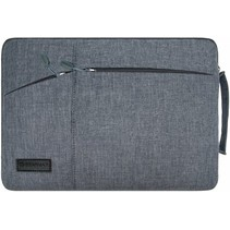Microsoft Surface Pro 7 - 12 inch Pocket Laptop & Macbook Sleeve - Grijs