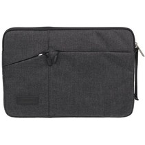 Microsoft Surface Pro 7 - 12 inch Pocket Laptop & Macbook Sleeve - Zwart