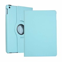 iPad 10.2 2019 / 2020 hoes - Draaibare Book Case Cover - Licht Blauw