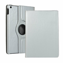 iPad 10.2 2019 / 2020 hoes - Draaibare Book Case Cover - Zilver