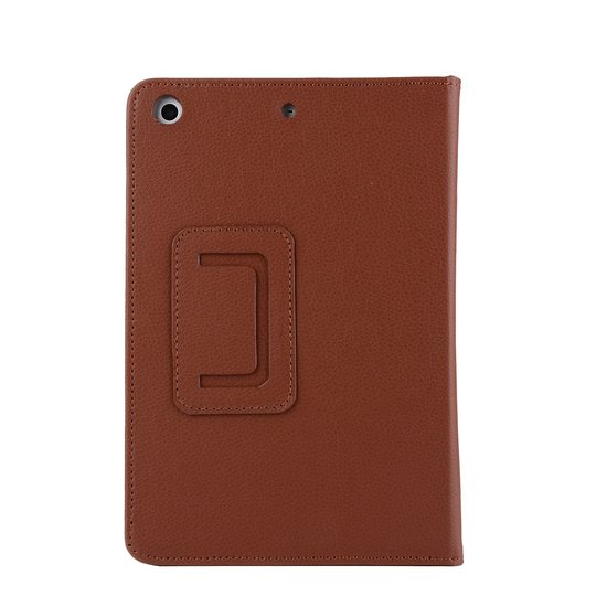 Case2go iPad 10.2 inch (2019) hoes - Flip Cover Book Case - Bruin