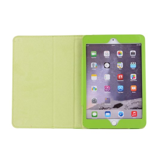 Case2go iPad 10.2 inch (2019) hoes - Flip Cover Book Case - Groen