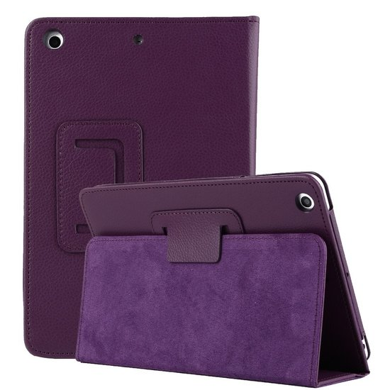 Case2go iPad 10.2 inch (2019) hoes - Flip Cover Book Case - Paars