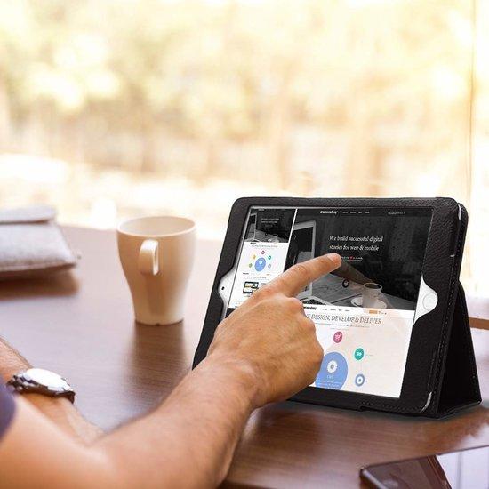 Case2go iPad Air 10.5 (2019) hoes - Flip Cover Book Case - Zwart