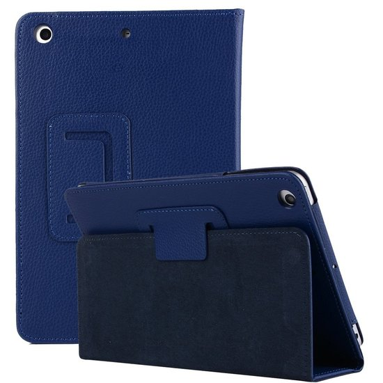 Case2go iPad Air 10.5 (2019) hoes - Flip Cover Book Case - Donker Blauw