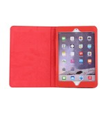 Case2go iPad Air 10.5 (2019) hoes - Flip Cover Book Case - Rood