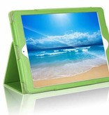 Case2go iPad Air 10.5 (2019) hoes - Flip Cover Book Case - Groen
