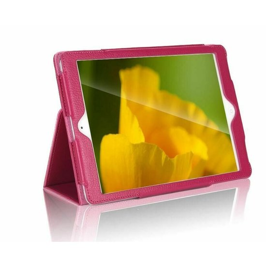 Case2go iPad Air 10.5 (2019) hoes - Flip Cover Book Case - Magenta