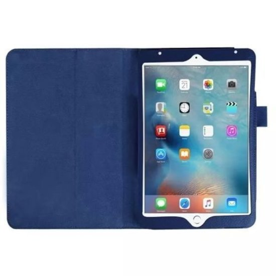 Case2go iPad Pro 10.5 (2017) hoes - Flip Cover Book Case - Donker Blauw