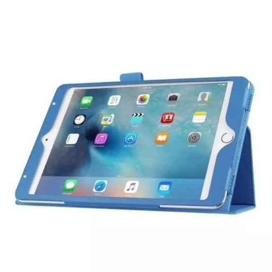 Case2go iPad Pro 10.5 (2017) hoes - Flip Cover Book Case - Licht Blauw