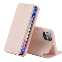 iPhone 11 hoes - Dux Ducis Skin X Case - Roze