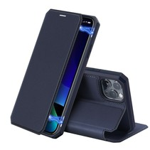 iPhone 11 Pro Max hoes - Dux Ducis Skin X Case - Donker Blauw